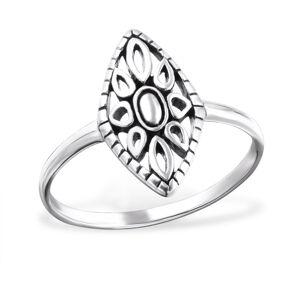 OLIVIE Strieborný prsteň MARQUISE 1022 Veľkosť prsteňov: 6 (EU: 51 - 53) Ag 925; ≤1,1 g.