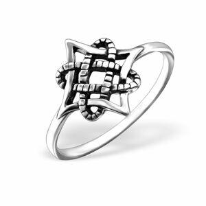 OLIVIE Strieborný prsteň 1023 Veľkosť prsteňov: 7 (EU: 54 - 56) Ag 925; ≤1,3 g.