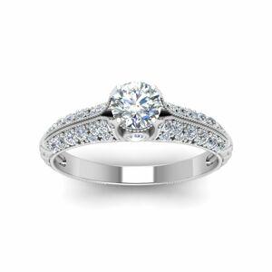 OLIVIE Strieborný zásnubný prsteň 2177 Veľkosť prsteňov: 9 (EU: 59 - 61) Ag 925; ≤2,9 g.