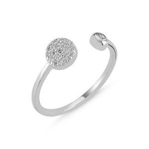 OLIVIE Strieborný prsteň - nastaviteľná veľkosť 2302 Ag 925; ≤1,47 g.