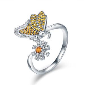 OLIVIE Strieborný prsteň MOTÝĽ 2943 Ag 925; ≤2,45 g.