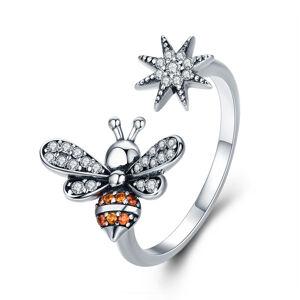OLIVIE Strieborný prsteň VČIELKA 2946 Ag 925; ≤2,1 g.