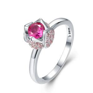 OLIVIE Strieborný prsteň RUŽE 2960 Veľkosť prsteňov: 6 (EU: 51 - 53) Ag 925; ≤2,2 g.