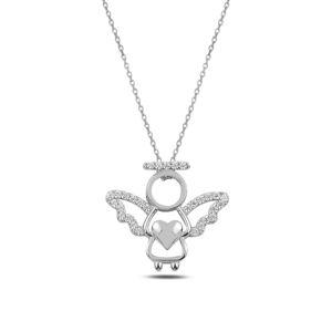 OLIVIE Strieborný náhrdelník ANJEL 3693 Ag 925; ≤2,3 g.