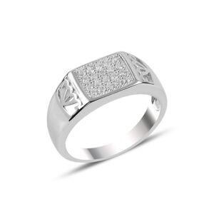OLIVIE Pánsky strieborný prsteň 3729 Veľkosť prsteňov: 9 (EU: 59 - 61) Ag 925; ≤ 4,7 g.