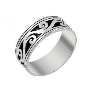 OLIVIE Pánsky strieborný prsteň 3734 Veľkosť prsteňov: 11 (EU: 65 - 67) Ag 925; ≤4 g