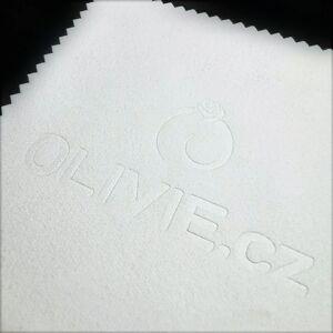 OLIVIE Biela čisticia utierka - hadrík na striebro 3736