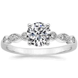 OLIVIE Strieborný zásnubný prsteň 4113/9 Veľkosť prsteňov: 10 (EU: 62 - 64) Ag 925; ≤1,8 g.