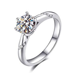 OLIVIE Strieborný zásnubný prsteň AMBER 4131/8 Veľkosť prsteňov: 5 (EU: 47 - 50) Ag 925; ≤2,5 g.