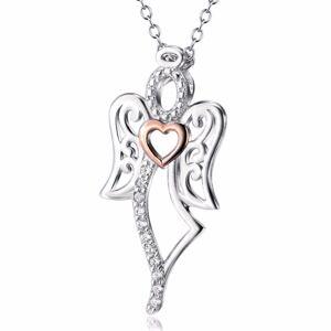OLIVIE Strieborný náhrdelník ANJEL 4216 Ag 925; ≤2,5 g.