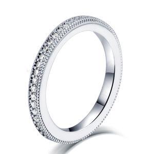 OLIVIE Strieborný prsteň AMAZING 4703 Veľkosť prsteňov: 6 (EU: 51-53) Ag 925; ≤2,4 g.