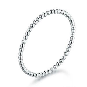 OLIVIE Najjemnejšie strieborný prsteň 4710 Veľkosť prsteňov: 6 (EU: 51-53) Ag 925; ≤0,4 g.