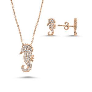 OLIVIE Sada šperkov MORSKÝ KONÍK ROSE 4981