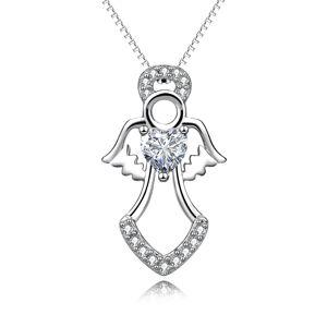 OLIVIE Strieborný náhrdelník ANJEL 5067 Ag 925; ≤3,7 g.