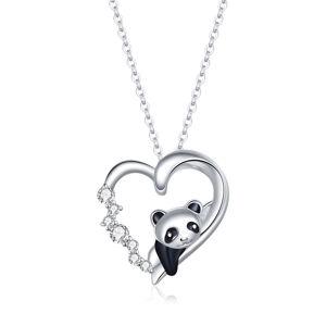 OLIVIE Strieborný náhrdelník PANDA 5362 Ag 925; ≤3,2 g.