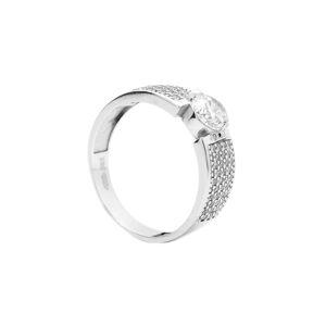 Zlatý prsteň BAINA white