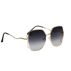 Dámske slnečné okuliare Side Frames Gold BLACK