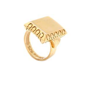 Zlatý veľký prsteň EHNER