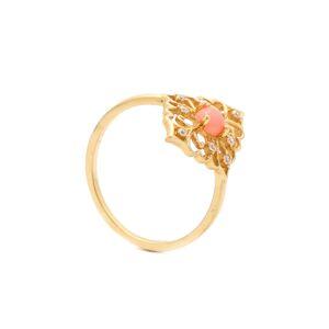 Zlatý prsteň HOLLIE so zirkónmi