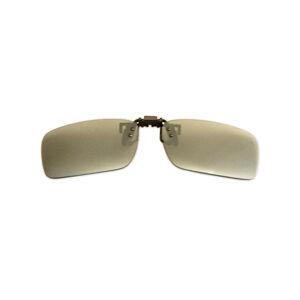 Polarizačný klip na okuliare - zrkadlový strieborný - ...