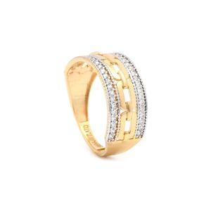 Zlatý dámsky prsteň ELCIDA