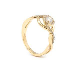 Zlatý dámsky prsteň SENJA